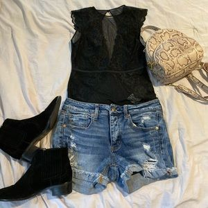 Black Body Suit!